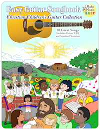 Christian Childrens Guitar Collection Cover 200x259