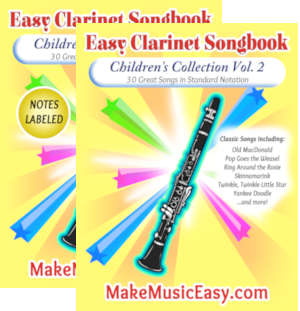 MME clarinet child vol 2 dual 300x311