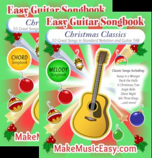 MME guitar Christmas dual 300x311