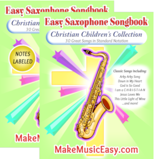 MME saxophone christ Child Dual 300x310