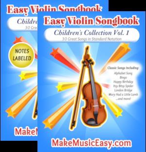 MME violin child vol 1 dual 300x311