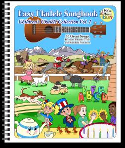 ring binded ukulele children vol1 WEB